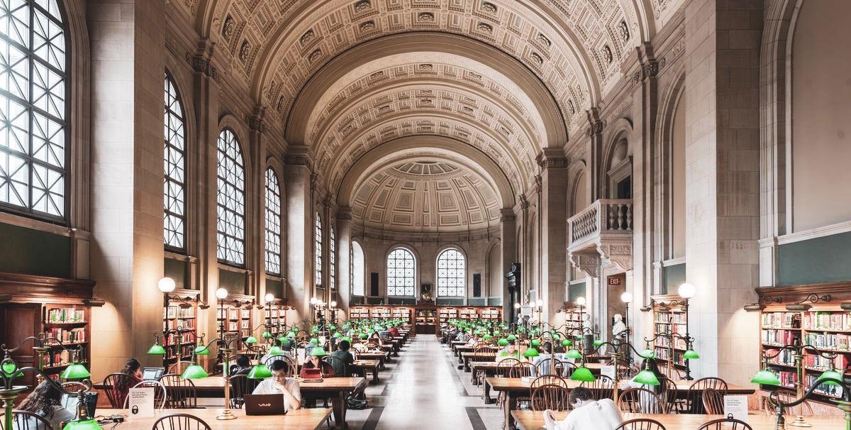 Boston-cosa-vedere-public-library